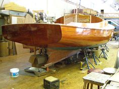 "Building the Catboat ""Silent Maid"""