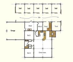 Barn With Living Quarters Designs | All Wood Barns, Horse Barns, Utility Barns, and Living Quarter Barns ...