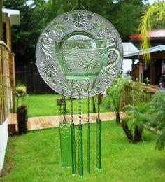 repurposed wind chimes   Vintage Wind Chime Repurposed
