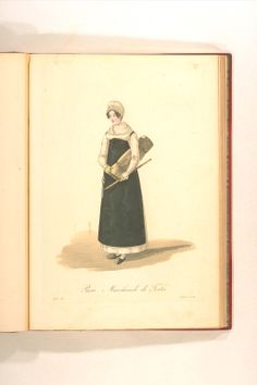 Marchande de Toile Working Woman, Napoleon, 19th Century, Bookends, Empire, Museum, Image, Decor, Women