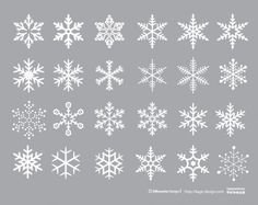 Free to use! Snow Crystal Collection (commercially available, AI, EPS, PDF) Christmas Design, Christmas Art, Christmas Stockings, Christmas Decorations, Xmas, Christmas Ornaments, Christmas Embroidery Patterns, Embroidery Designs, Diy And Crafts