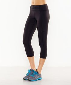 Look what I found on #zulily! Black Perfect Booty Capri Leggings #zulilyfinds