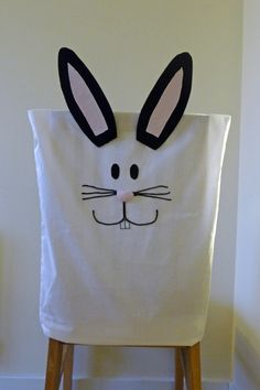 Easter Bunny Chair Cover