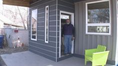 In an eclectic Glendale Utah neighborhood inhabited by working-class families, polygamists, and roosters, Jeffrey White is adding something new to the mix. Something unexpectedly stylish. Shipping containers.