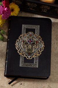 Limited Edition Multi Jeweled KJV Bible-WAS $295 NOW 2 LEFT $177.00 www.celebrateyourfaith.com