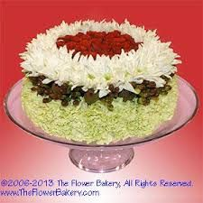 birthday cake floral arrangement Birthday Flowers Fancy Floral
