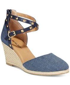 d13dbfd7b Rialto Campari Espadrille Wedge Sandals Shoes - Sandals   Flip Flops -  Macy s