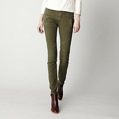 twill pants womens - Pi Pants