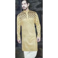 99e53fc6618 Camel Designer kurta pazama fabric for men unstitched