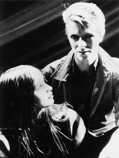 Christiane F and David Bowie .filmed in Berlin[ Bowie film clip in concert] outstanding film,based on Bio of this girl's journey with life and drugs. David Bowie, Berlin Spree, Ziggy Played Guitar, Bowie Starman, Sad Movies, The Thin White Duke, Film Base, Ziggy Stardust, Miles Davis