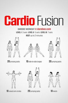 Cardio is not the most efficient method of burning calories for weight-loss, nor is it the finest way to maintain muscle. Instead, increasingly more individuals are relying on weight lifting for their weight loss strategies. Cardio Yoga, Pilates, Cardio Workout At Home, Cardio Routine, Best Cardio, Workout Plans, Cardio Workouts, Morning Workouts, Quick Workouts