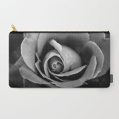Buy Black and White Rose  Carry-All Pouch by xiari photography. Worldwide shipping available at Society6.com. Just one of millions of high quality products available.black and white, black, white, gray , rose, flower, bloom, season, spring, love, lovers, grayscale, nature, flower, flowers, white, landscape, nature lover, garden, outdoor, art print, art, photography, photo, photographer, valentine's, gift, duvet, phone case, iphone, vintage, bedroom, interior design, design, home decor…