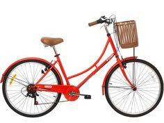 Un modelo de ciudad.Geometría especialmente pensada para conducir cómodamente sentado, y al mismo tiempo dotada de ruedas delgadas y 6 velocidades, características que te aseguran desplazarte placentera y agilmente. En pocas palabras la #bicicleta de ciudad PERFECTA!  $99,990