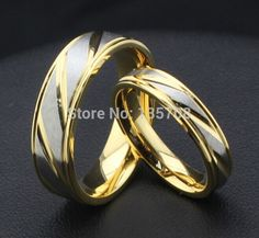 Cheap ring, Buy Quality ring wedding ring directly from China ring toss rings Suppliers: Free lettering Titanium alloy jewelry bands rings wedding engagement rings for women men as lover Valentine Gift Gold Wedding Rings, Wedding Rings For Women, Wedding Ring Bands, Rings For Men, Buy Jewellery Online, Anniversary Jewelry, Matching Rings, Couple Rings, Bridal Jewelry Sets