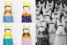 Los muñecos de trapo de Franja Ralison