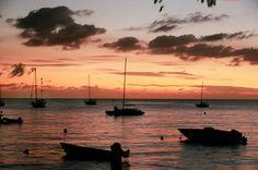 Sunsets & sailboats <3 #sunset #sailboat #sailing #Vieques #Caribbean #nytimes #traveltuesday