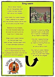 Wie is Liewe Heksie My Children Quotes, Kids Poems, Quotes For Kids, Children Songs, Afrikaanse Quotes, Rhymes Songs, Home Schooling, Humor, Child Development