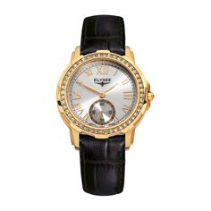 ELYSEE Melissa Ladies Watch, Steel case, gold PVD, Reference 22004.