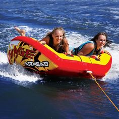 Airhead Watersports | Savage | 2 Rider winged towable