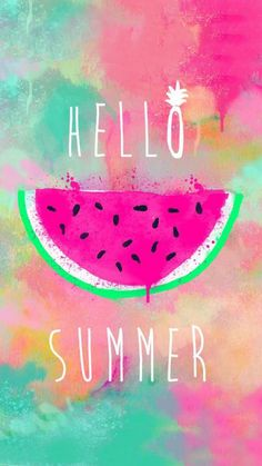 Hello Summer Cute Girly Wallpaper Android is best high definition wallpaper image. You can use this wallpaper as background for your desktop Computer Screensavers, Android or iPhone smartphones