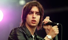 'Is this it' came top in NME's albums of the decade. Above: Julian Casablancas, lead singer of The Strokes. Photograph: Paul McFegan/Allstar...