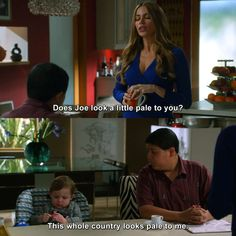 Check out the latest and funniest quotes of Modern Family. Funny Memes, Hilarious, Jokes, Modern Family Memes, Tv Shows Funny, The Mindy Project, American Dad, Cartoon Network Adventure Time, Really Funny