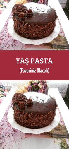 Fresh Cake (Your Favorite)- Yaş Pasta (Favoriniz Olacak) Fresh Cake (Your Favo… Cake Recipes, Dessert Recipes, Desserts, Fresh Cake, Souffle Recipes, Turkish Recipes, Confectionery, Quick Easy Meals, Granola