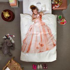 Une couette pour lit de princesse