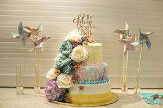 A whimsical poly wedding joining two families in awesomeness