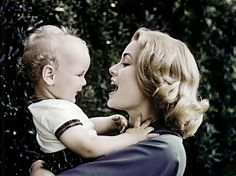 Grace Kelly with baby Albert♥