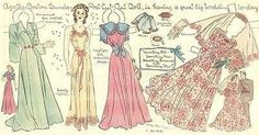 """""""Agatha's great big wedding,"""" a paper doll by Lucy Eleanor Leary, Boston Sunday Post 1940-1950s"""