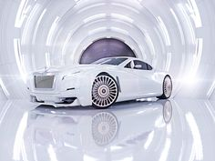 Rolls-Royce Coupé is a personal design concept illustrating a more sculptural execution of the Rolls-Royce aesthetics. Maserati, Bugatti, Ferrari, Rolls Royce Coupe, Rolls Royce Motor Cars, Classic Cars British, Old Classic Cars, Classic Toys, Audi