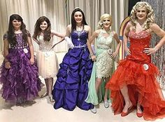 Petticoated Boys, Green Tights, Male To Female Transition, Womanless Beauty Pageant, Metallic Mini Dresses, Female Transformation, Beauty Contest, Transgender Girls, Pretty Dresses