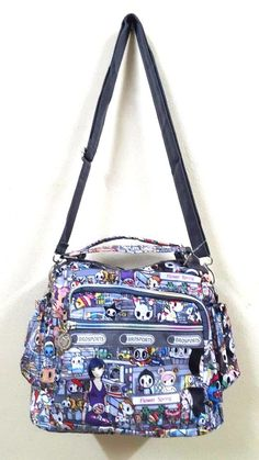 d05ec29f6b79 New Tokidoki Japanese inspired Medium Handbag Shoulder Crossbody bag   Brosports  ShoulderBag Hello Kitty