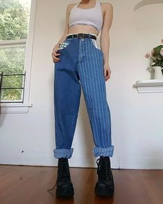 which outfit is your favorite? 90s Fashion, Korean Fashion, Fashion Outfits, Grunge Outfits, Pretty Outfits, Cool Outfits, Jean Outfits, Summer Outfits, Diy Clothes