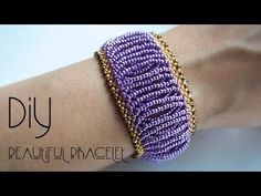 (7) Bracelet ! How to make bracelets ! Black Pearl - YouTube