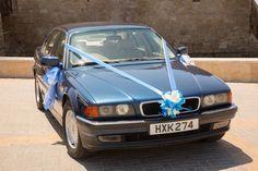 Classic wedding car ...