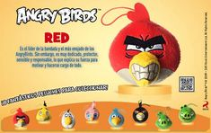 McDonald's Cajita Feliz Peluches de Angry Birds