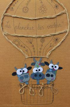 Vive le plancher des vaches !#jeans #recycle http://pinterest.com/fleurysylvie/mes-creas-la-collec/