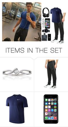 """""""O O T D"""" by sapphire-anons ❤ liked on Polyvore featuring art"""