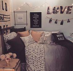 Imagem de room, bedroom, and decor