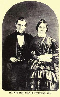 MrandMrsLelandStanford1850 - Jane Stanford - Wikipedia, the free encyclopedia