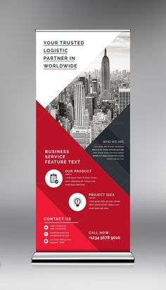 Real Estate Roll Up Banner Template. This elegant and well organized corporate roll-up banner template is in PSD format. It's ready to print. The Roll up banner template Design Real Estate Roll Up Banner Template Pull Up Banner Design, Standing Banner Design, Rollup Banner, Banner Template, Layout Template, Flyer Template, Web Design, Flyer Design, Graphic Design