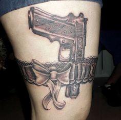 tatuagem de armas
