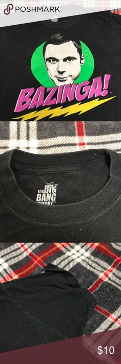 Big Bang T-Shirt Big Bang T-Shirt.Great Condition Big Bang Theory Shirts