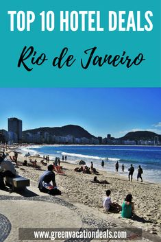 Top 10 Rio de Janeiro Hotel Deals. If you are planning a trip to Rio de Janeiro, Brazil then find out where to stay & how to save on great Rio hotels. #Rio #riodejaneiro #Brazil #travel