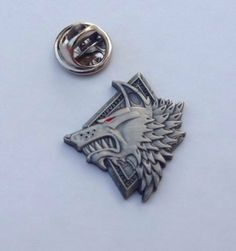 Warhammer 40k Space Wolves Pin by NicsFabStore on Etsy, $12.00