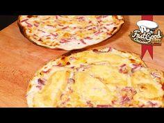 Recette de la Tarte Flambée - flammekueche en Alsacien - YouTube