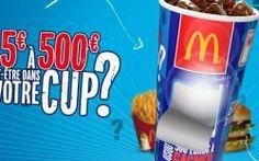 McDo Mystery Cup : jusqu'à 500€ à gagner