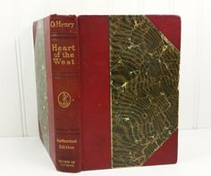 Heart of the West -  by O Henry, Life in the old west. 1912 Review of Reviews Authorized Edition.   by #naturegirl22 on Etsy